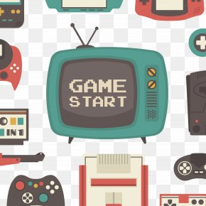 Vector Video Games - Video Game Game Boy Retrogaming Game Controller PNG