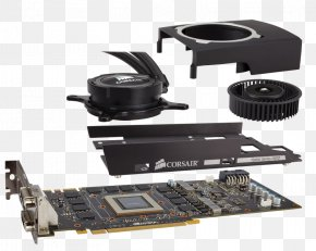Graphics Cards & Video Adapters Computer System Cooling Parts Graphics Processing Unit Water Cooling Corsair Components PNG