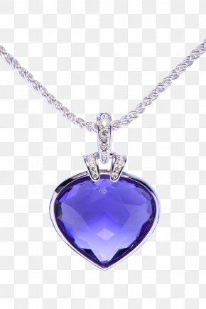 Creative Necklace - Swarovski AG Luxury Goods Amethyst Necklace Jewellery PNG