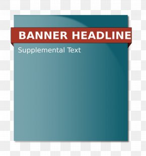 Web Banner - Web Banner Home Page Clip Art PNG