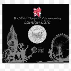 Uncirculated Coin - 2012 Summer Olympics Royal Mint 2012 Summer Paralympics Uncirculated Coin PNG