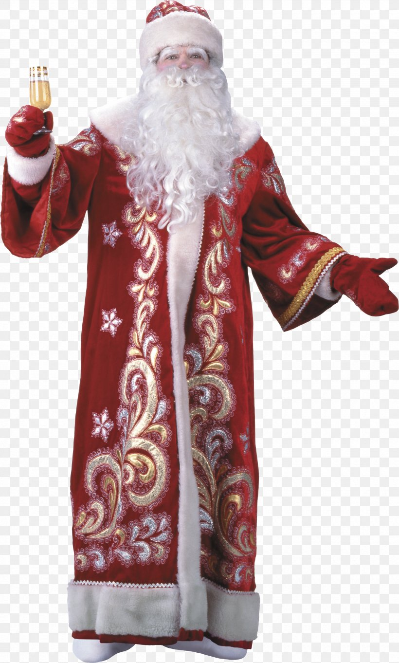 Ded Moroz Snegurochka Santa Claus Grandfather New Year, PNG, 3380x5618px, Ded Moroz, Christmas Decoration, Christmas Ornament, Costume, Fictional Character Download Free