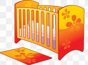 Bed - Bedroom Furniture Infant Bed PNG