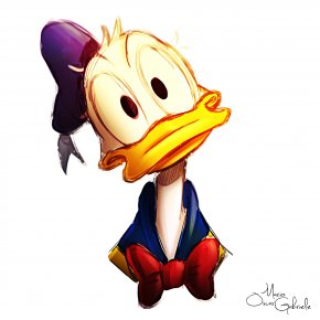Donald Duck - Donald Duck Daisy Duck Scrooge McDuck Drawing PNG