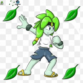Leaf - Mega Man 2 Leaf Green Clip Art PNG