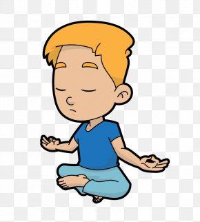 Meditation Ganesh Art - Clip Art Cartoon Image Vector Graphics PNG