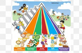 Healthy Eating Pyramid - Food Pyramid MyPlate MyPyramid Healthy Diet PNG