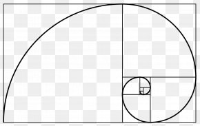 Euclidean Vector - Golden Spiral Golden Ratio Fibonacci Number Golden Rectangle PNG