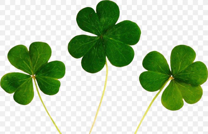 Luck Four-leaf Clover Desktop Wallpaper
