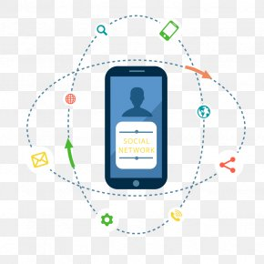 Vector Mobile Phone Network - Cellular Network Mobile Phone Mobile Telephony PNG