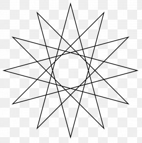 5 Star - Star Polygon Regular Polygon Geometry PNG