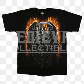 T-shirt - Long-sleeved T-shirt Death Poster PNG