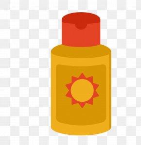 Yellow Sunscreen - Sunscreen Cream Skin Whitening Skin Care PNG