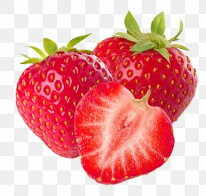 Red Fresh Strawberry Decoration Pattern - Smoothie Juice Lemonade Strawberry Flavor PNG