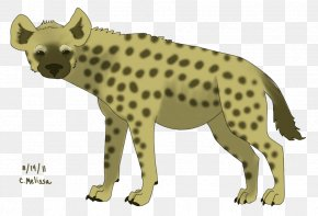 Hyena - Cheetah Spotted Hyena Clip Art PNG