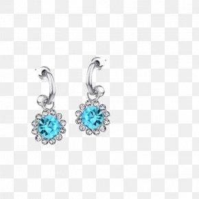 Diamond - Turquoise Earring Diamond PNG
