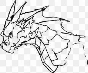 Dragon - Line Art Drawing Chinese Dragon Clip Art PNG