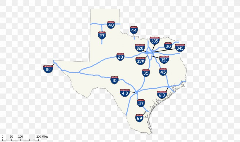 Texas State Highway System US Interstate Highway System ...