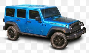 Blue Jeep Wrangler Car - 2017 Jeep Wrangler Car Jeep Grand Cherokee Chrysler PNG