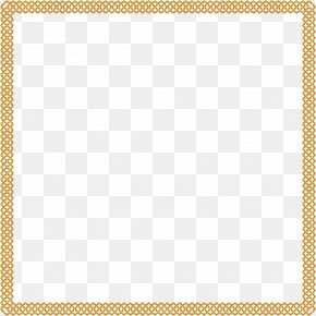 Vector Painted Gold Frame - Area Picture Frame Square, Inc. Pattern PNG