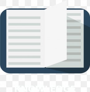 Opened Books - Data Euclidean Vector Icon PNG