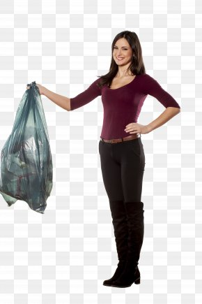 Woman Holding Book - Rubbish Bins & Waste Paper Baskets Bin Bag Container Recycling Bin PNG