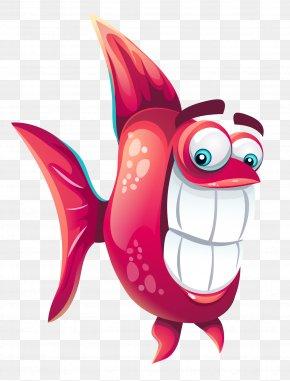 Funny Fish - Fish Cartoon DirectDraw Surface PNG