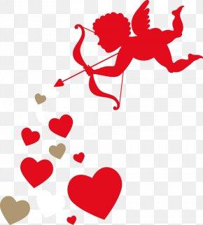 Valentine Element - Cupid Valentine's Day Clip Art PNG