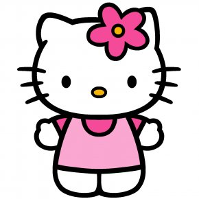 Hello Kitty Wall Stencils - Hello Kitty Clip Art PNG