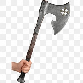 Axe - Hatchet Larp Axe Hand Axe Battle Axe PNG