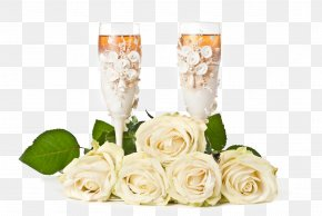 White Roses And Wine - Birthday Wish Blahou017eelanie Greeting Card Gift PNG