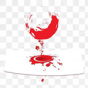 Creative Wine Glass - Wine List Mavrud Wine Glass PNG