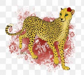 Cheetah - Cheetah Leopard Cat Tiger Felidae PNG