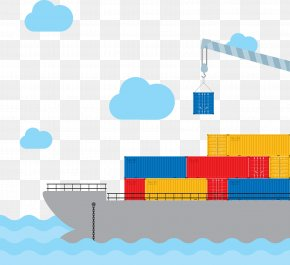 Transport Ship Vector - Maritime Transport Ship Watercraft PNG