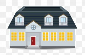 Home Background Download - Illustration Vector Graphics Building Euclidean Vector PNG