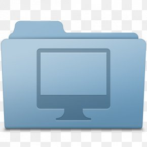 Computer Folder Blue - Blue Computer Monitor Display Device Font PNG