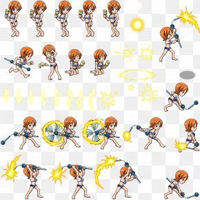 Sprite - One Piece Treasure Cruise Nami Sprite Character PNG