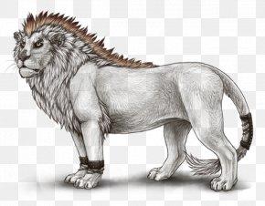 Lion - Lion Roar Big Cat Terrestrial Animal PNG
