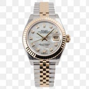 Rolex Lady - Rolex Datejust Watch Brand Diamond PNG