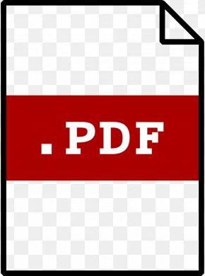 Pdf Cliparts - Portable Document Format Clip Art PNG