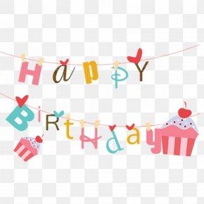 Happy Birthday - Birthday Cake Wedding Invitation Greeting Card Gift PNG