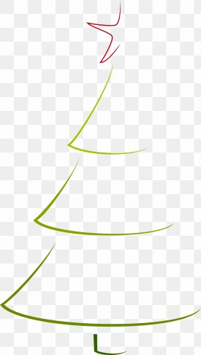 Simple Green Christmas Tree - Christmas Tree Clip Art PNG