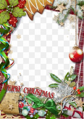 Christmas Frame Transparent - Christmas Picture Frame PNG