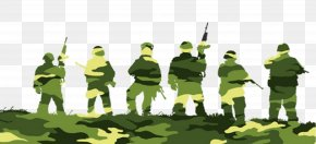 Silhouette Of Soldier - Soldier Download Silhouette Clip Art PNG