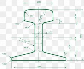 Light Rail - Rail Transport Rail Profile Crane Track Fishplate PNG