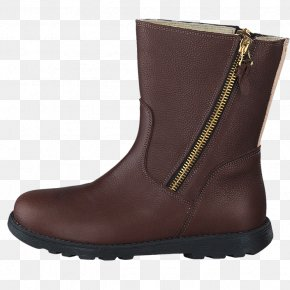 Boot - Snow Boot Shoe Leather Black M PNG