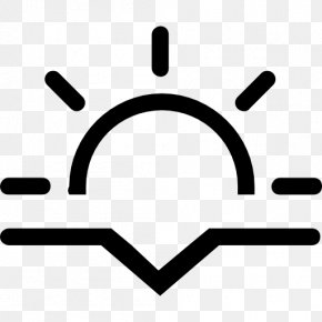 Sunset Icon - Symbol Icon Design Logo PNG