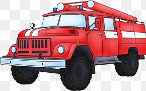 Car - Car Fire Engine Firefighter Fire Safety Police PNG