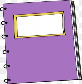 Notebook Cliparts - Paper Notebook Exercise Book Clip Art PNG