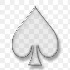 Eid Mubarak Card - Ace Of Spades Playing Card Symbol PNG